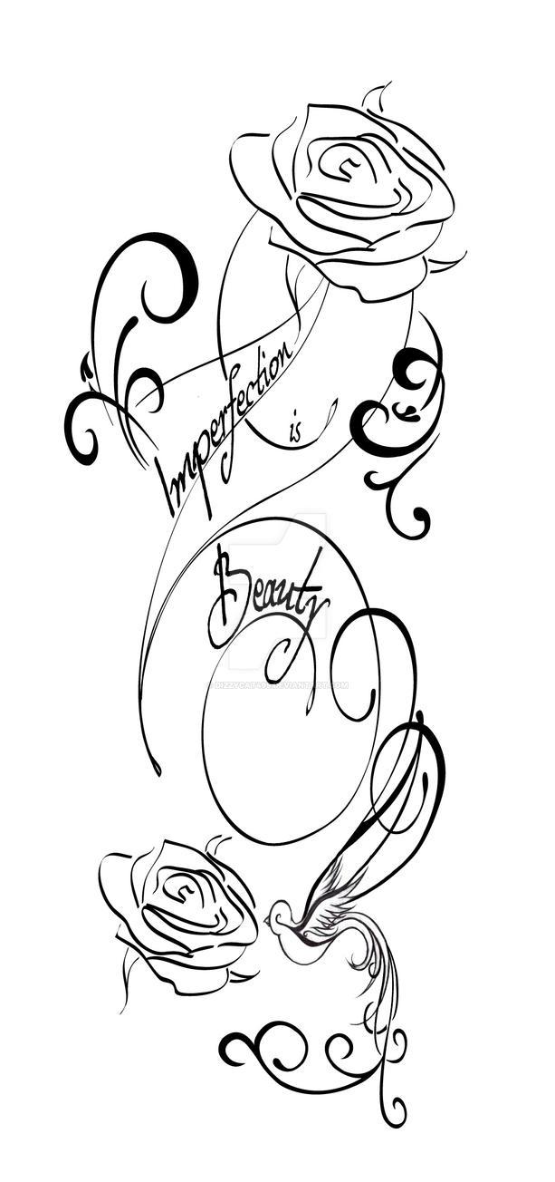 Imperfection is Beauty tattoo by dizzycat499 on DeviantArt