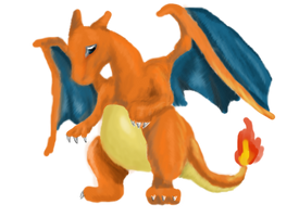 006 - Charizard by Aurora-Ghost
