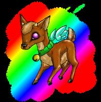 Random Deer by Aurora-Ghost