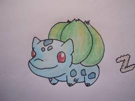 1 - Bulbasaur by Aurora-Ghost