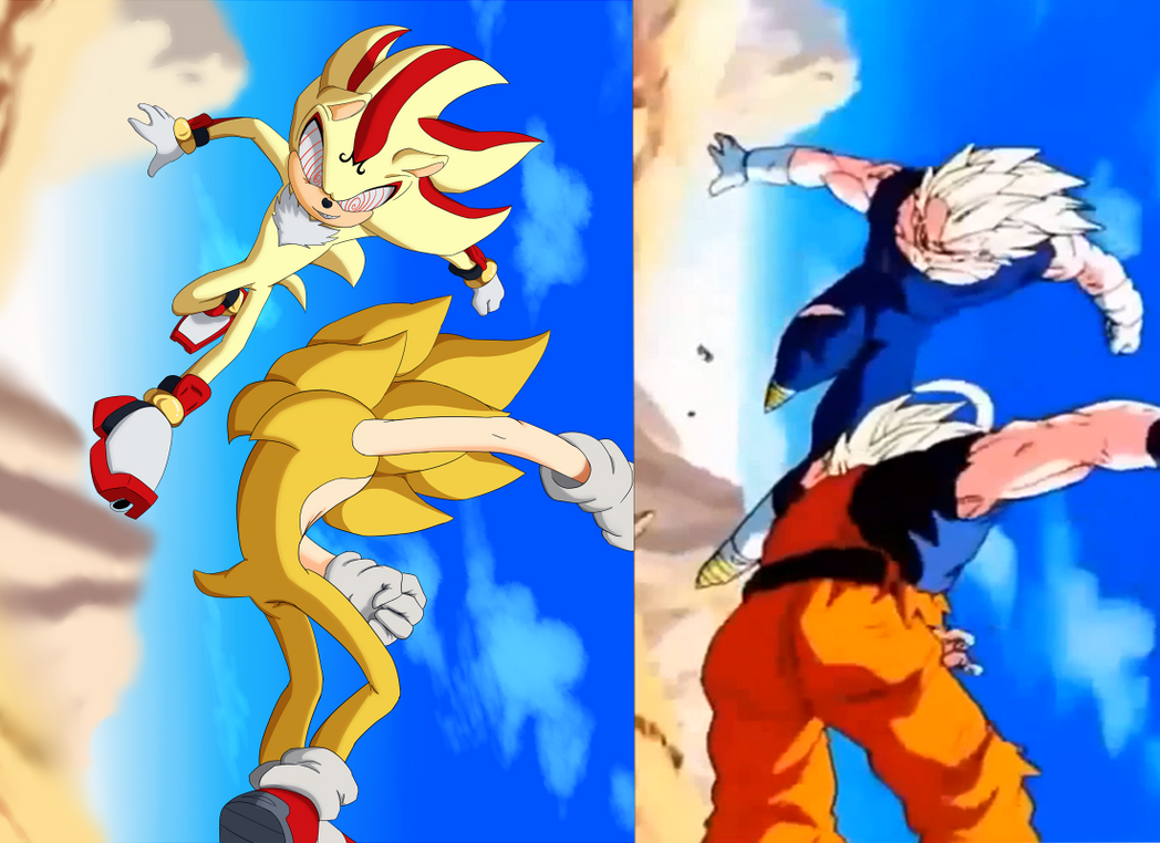 Dragon ball z/Sonic the Hedgehog - Comparison 2 by ...