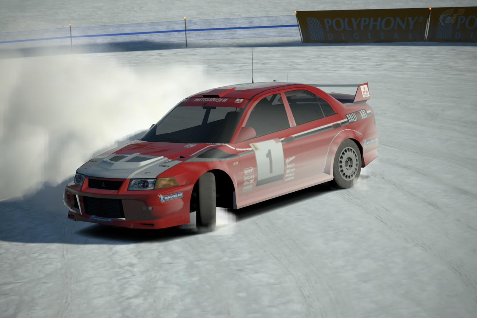 Mitsubishi Lancer Evolution VI Rally Car 1999 by Bronya47 on ...