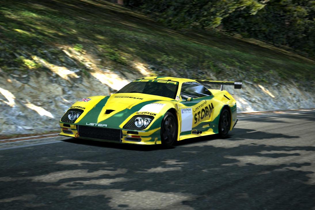 Lister Storm V Race Car