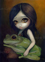 Little Frog Girl by jasminetoad