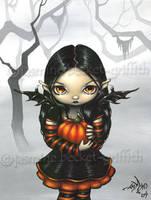 Pumpkin Pixie by jasminetoad