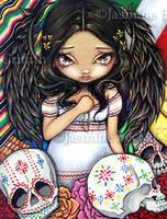 Angel de los Muertos by jasminetoad