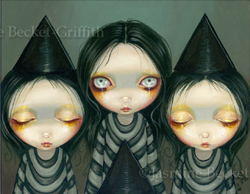 Three Witchy Sisters by jasminetoad