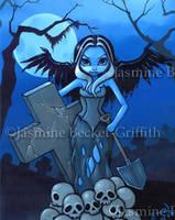 Gravedigger by jasminetoad
