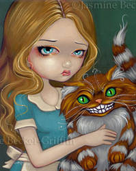 Cheshire Cat Cuddle by jasminetoad