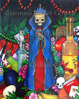 Santa Muerte by jasminetoad