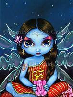 Hindu Fairy by jasminetoad