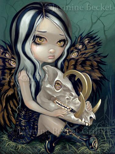 Babirusa Skull by jasminetoad