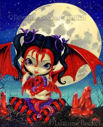 Ruby Moon by jasminetoad