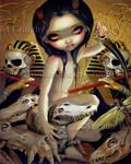 Priestess of Nyarlathotep by jasminetoad