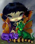 Two Cute Dragonlings