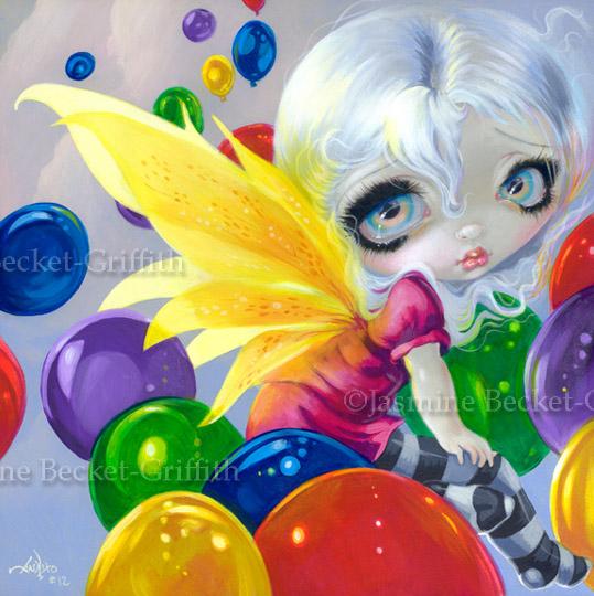 Fairy Balloons by jasminetoad