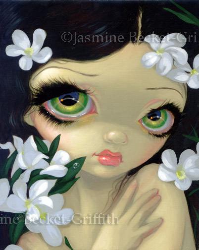 Poisonous Beauties II: White Oleander by jasminetoad