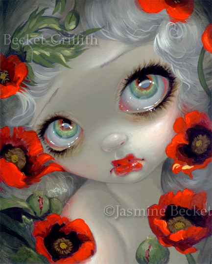 Poisonous Beauties III: Opium Poppy by jasminetoad