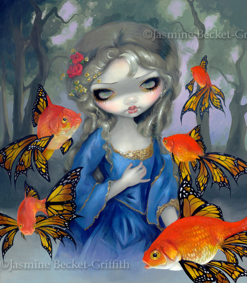 Poissons Volants: Les Poissons Rouges by jasminetoad