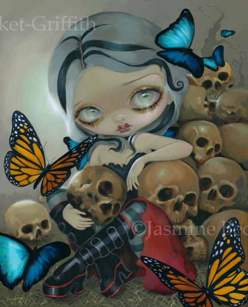 Butterflies and Bones by jasminetoad