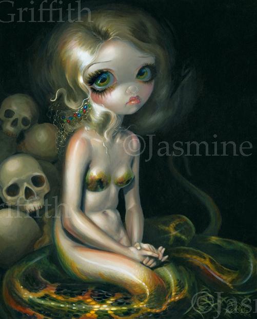 Lamia by jasminetoad