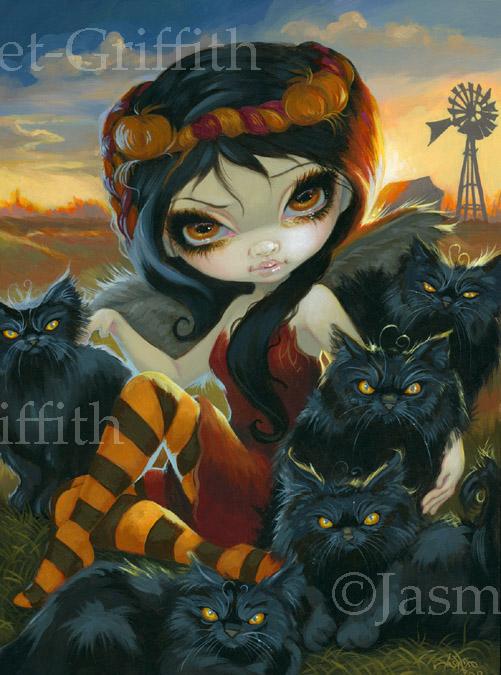 Autumn Kitties by jasminetoad