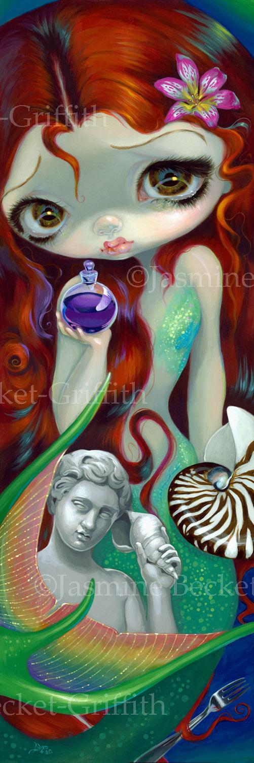 The Little Mermaid by jasminetoad