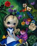 Alice in Wonderland: Alice in the Garden