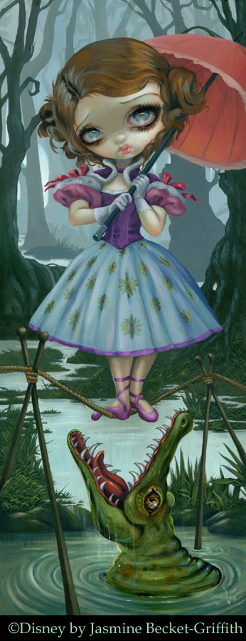 Disney's Haunted Mansion:  Tightrope Girl by jasminetoad