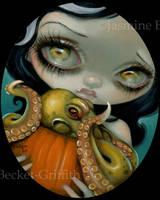 Octopus Pumpkin by jasminetoad