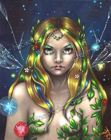 Fairy Queen Titania by jasminetoad