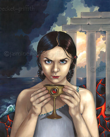 The Fall of Atlantis by jasminetoad