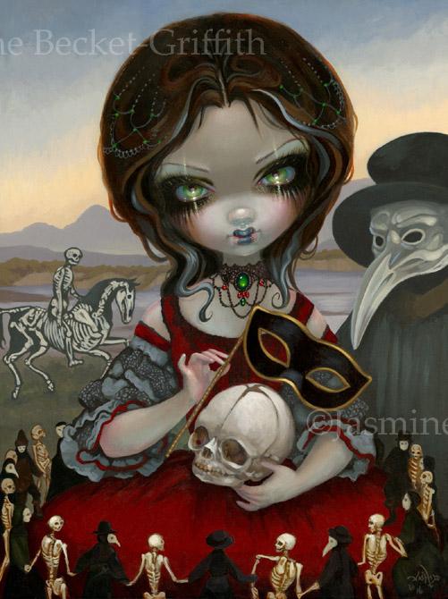 Carnevale di Morte by jasminetoad