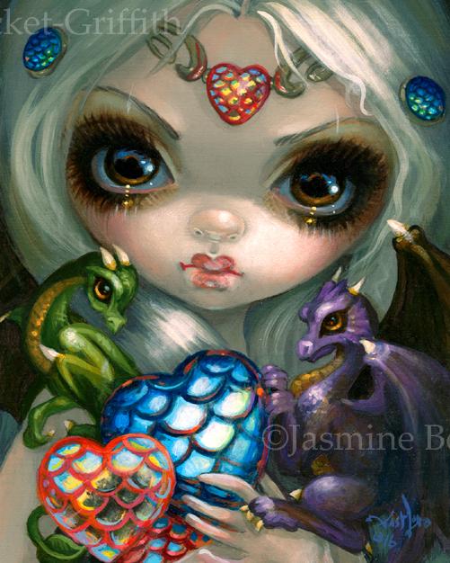Dragon Hearts by jasminetoad