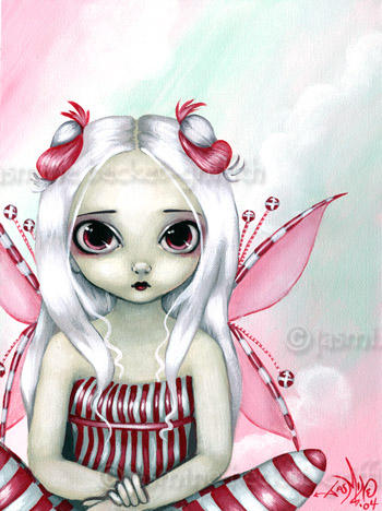 Peppermint Pretty by jasminetoad