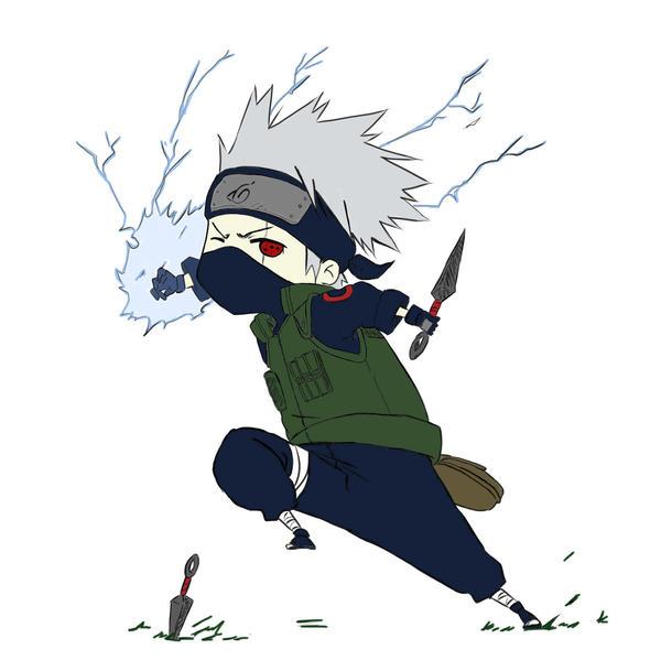 Hatake Kakashi Chibi - 9999 Anime Wallpapers