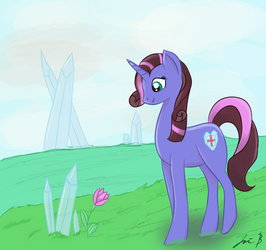 Princess Blueberry Swirl Silverlight by NovemberLilly
