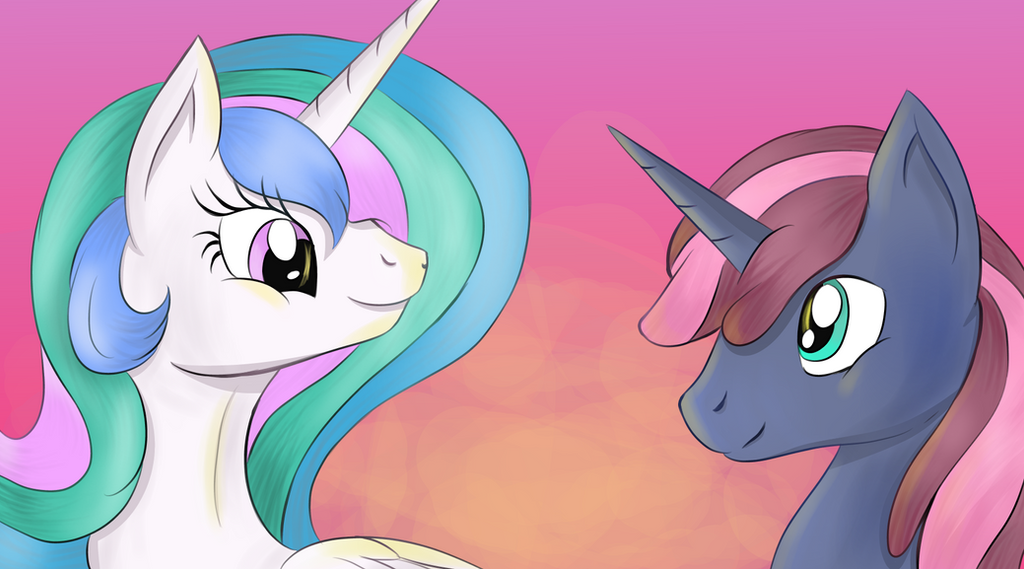 Celestia And Justice by NovemberLilly