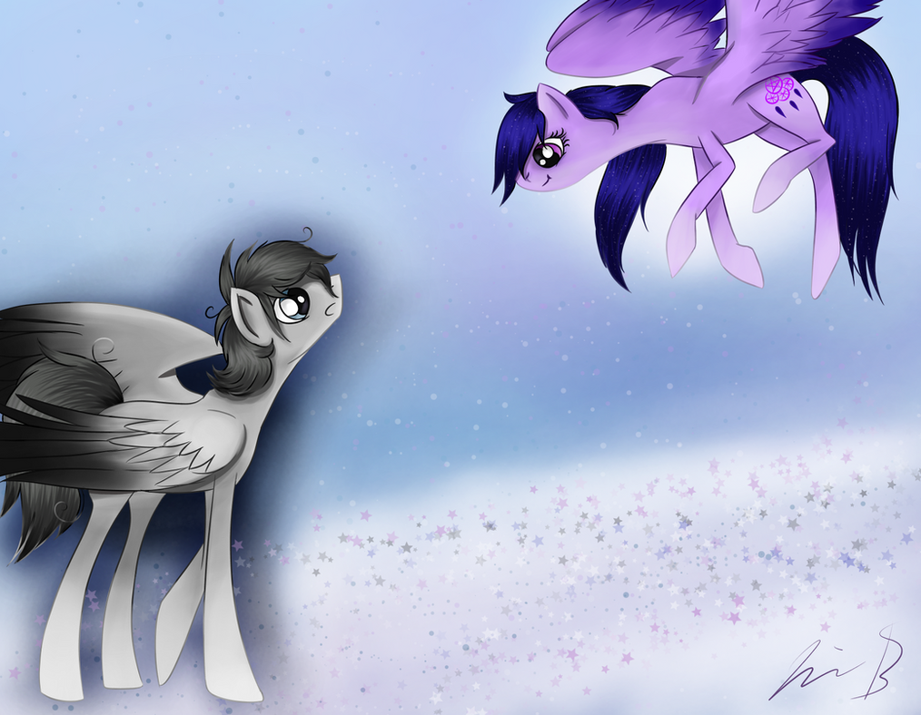Timid Feathers and Dream Guide: Request by NovemberLilly