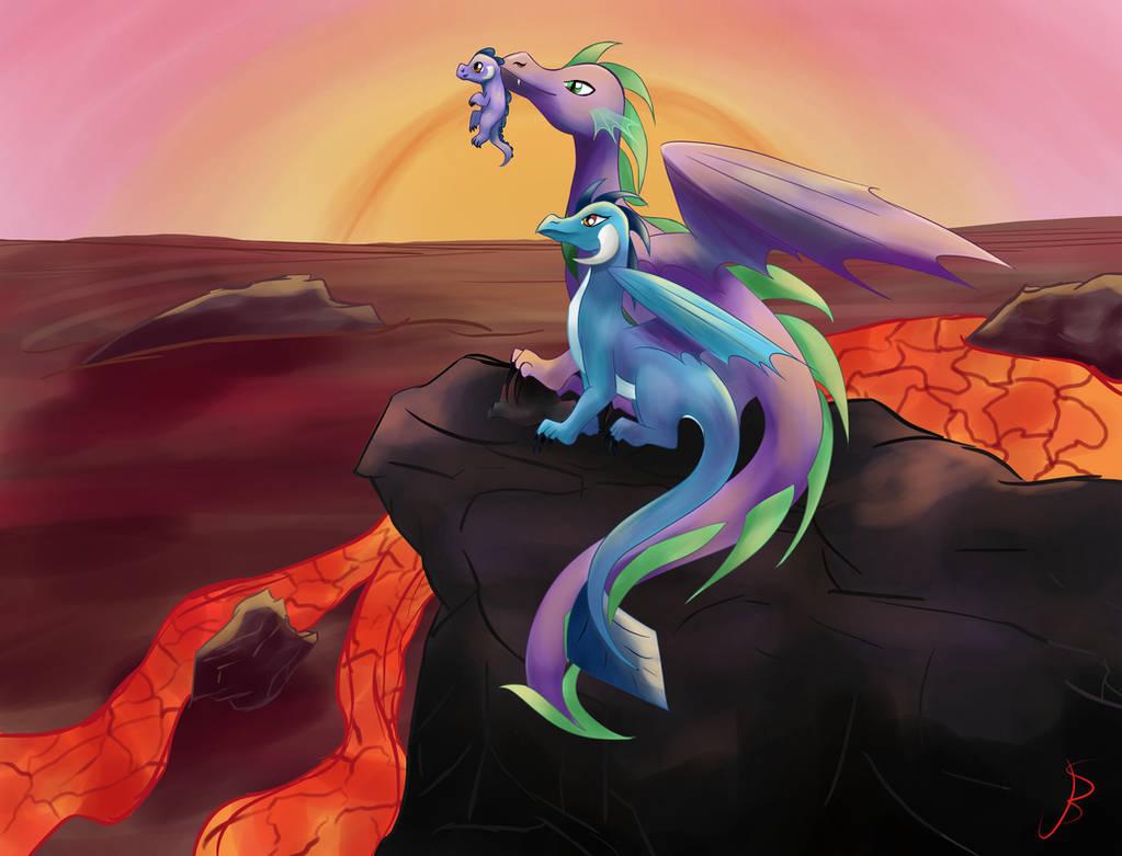 The Dragonland Celebration by NovemberLilly