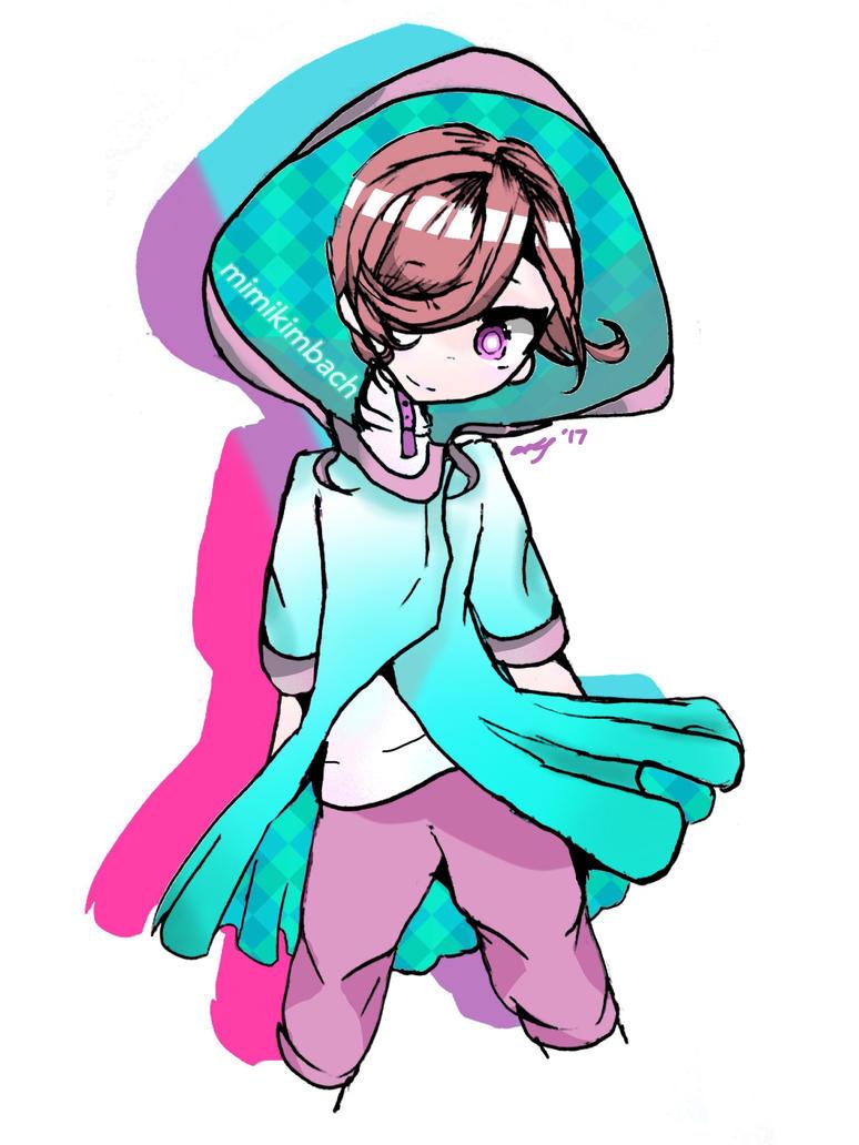 Mouseboy (Green Hood) by mimikimb
