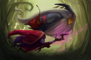 Bard and Lulu by TychyTamara