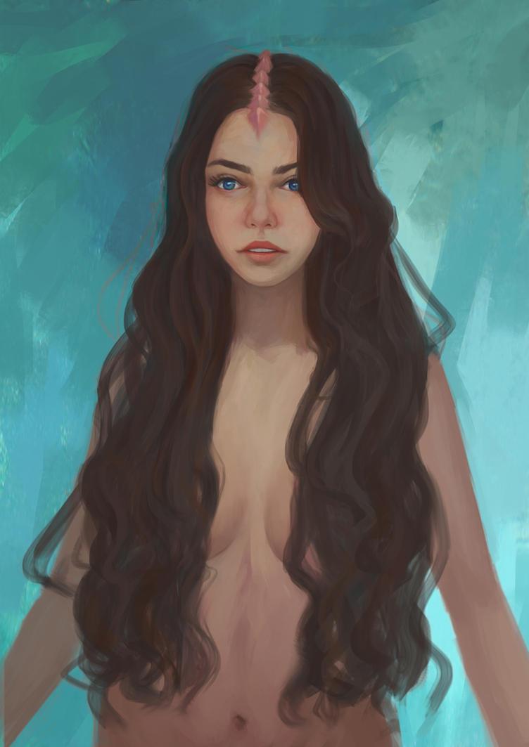 Katy speed paint by TychyTamara