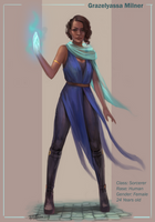 Dnd Sorcerer by TychyTamara