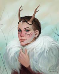 Marwen Mossmire -Commission- by TychyTamara