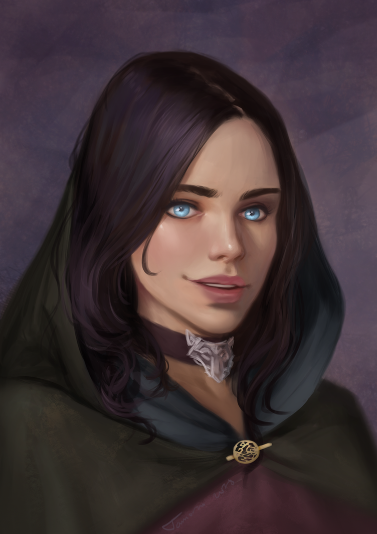 Milah OC Commission by TychyTamara