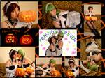 Black and N _ Halloween Cosplay