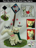 There She Is: Nabi + Doki Clay by Nestly