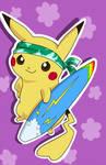 Dreemi the Surfing Pikachu