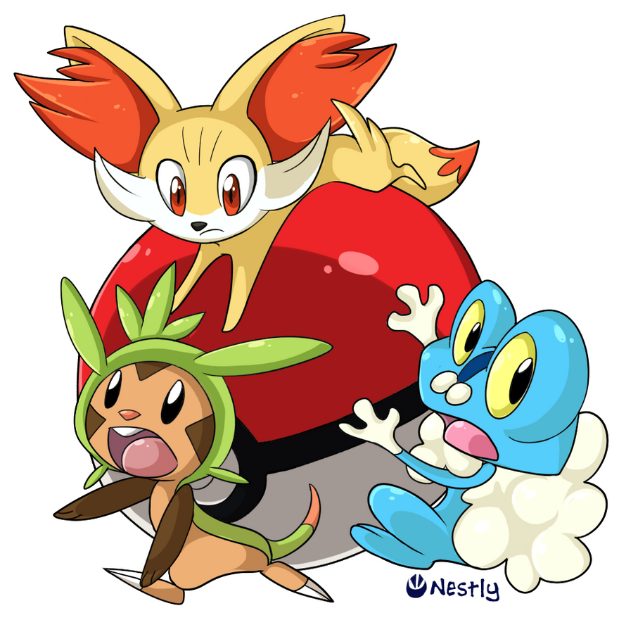 Pokemon X an Y - New starters rollin in by Nestly